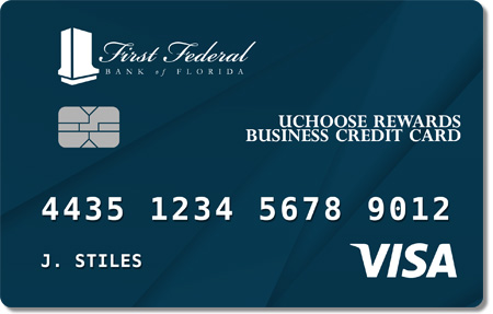 Credit cards first federal bank of florida first federal uchoose rewards business credit card colourmoves