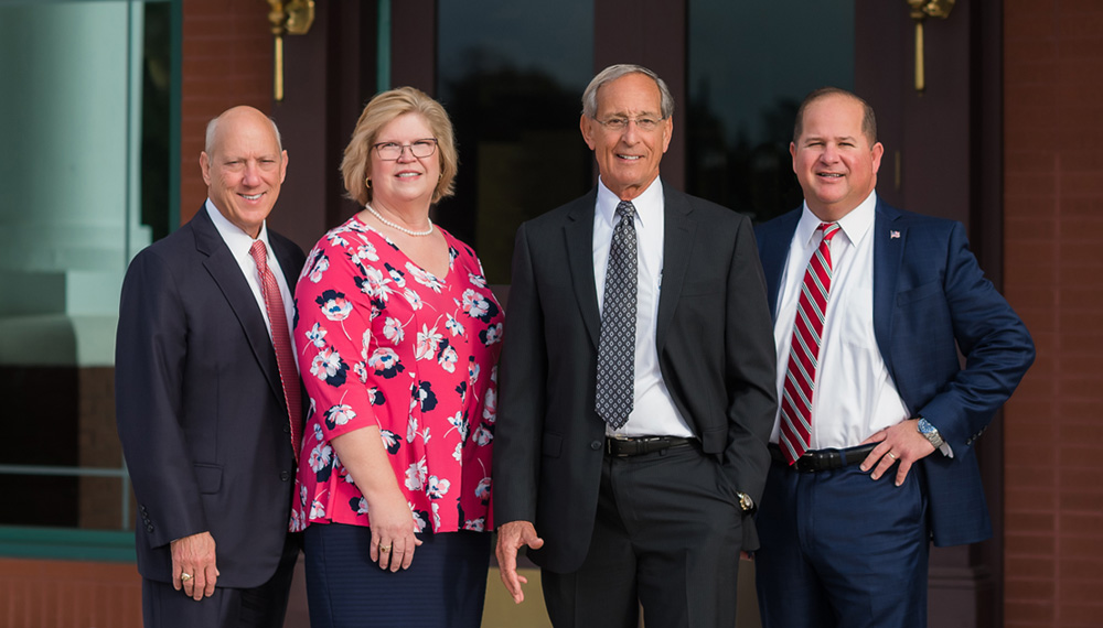 Our Senior Executive team: Jim Moses, Pam Hitt, Keith Leibfried, and John Medina.