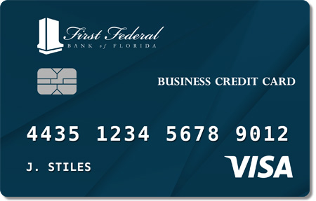 First Federal Business Credit Card Preview