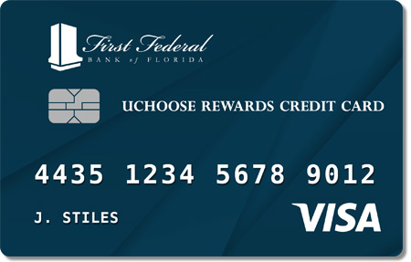 First Federal uChoose Rewards Credit Card Preview